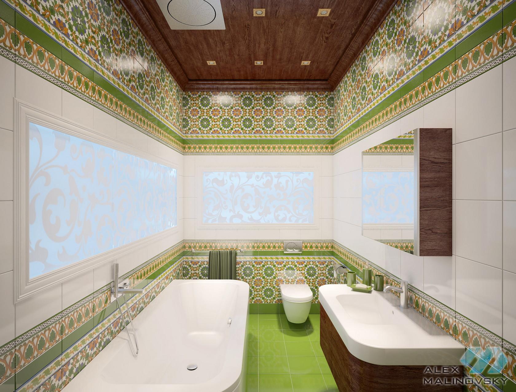 Ванная, 2х комнатная квартира, ЖК Веллтонпарк, Москва