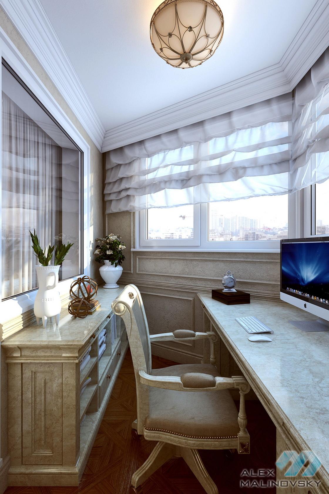 Балкон, 2х комнатная квартира, ЖК Бутово-парк, Москва