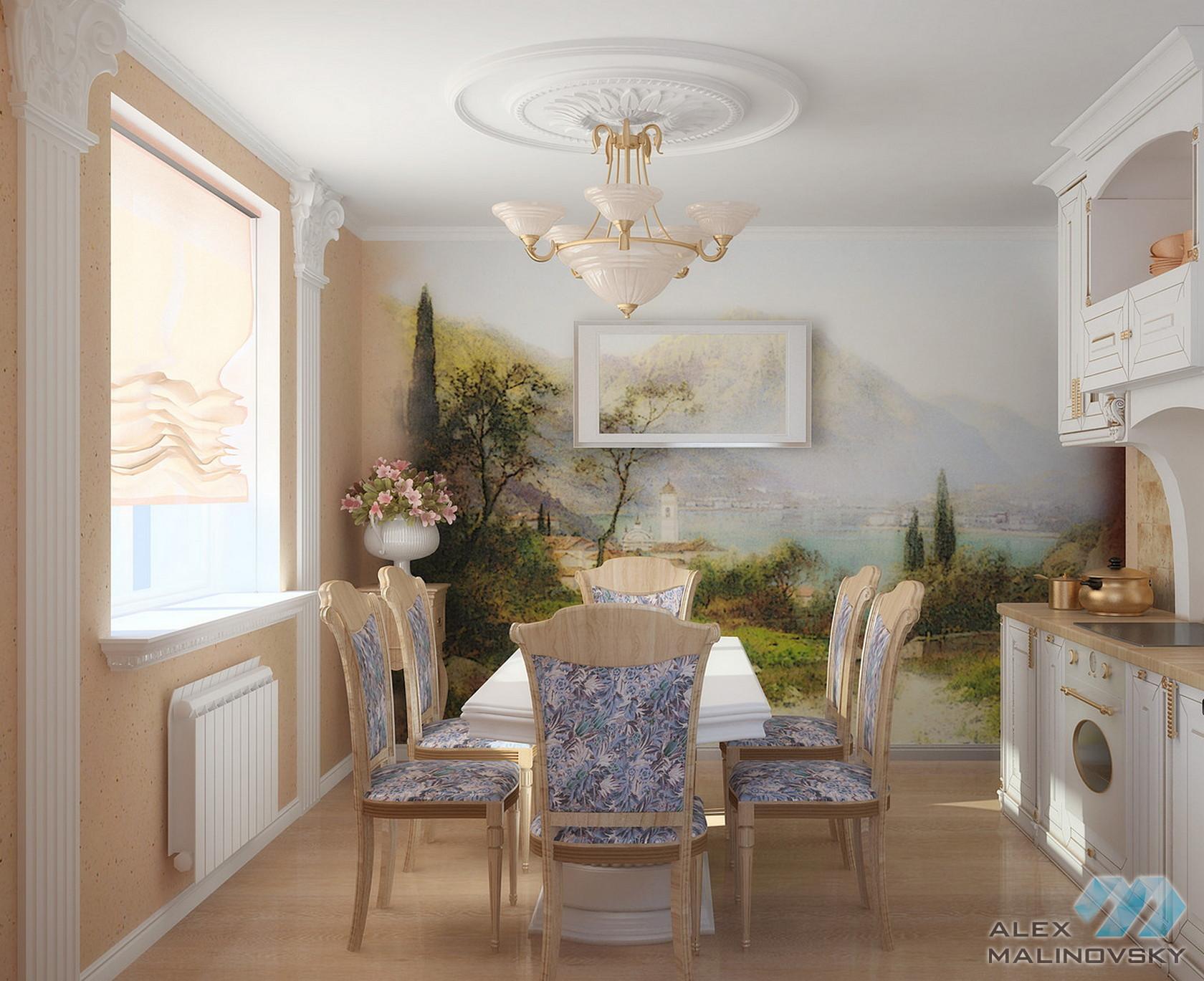 Кухня, 3х комнатная квартира, ЖК Князь Владимир, Белгород