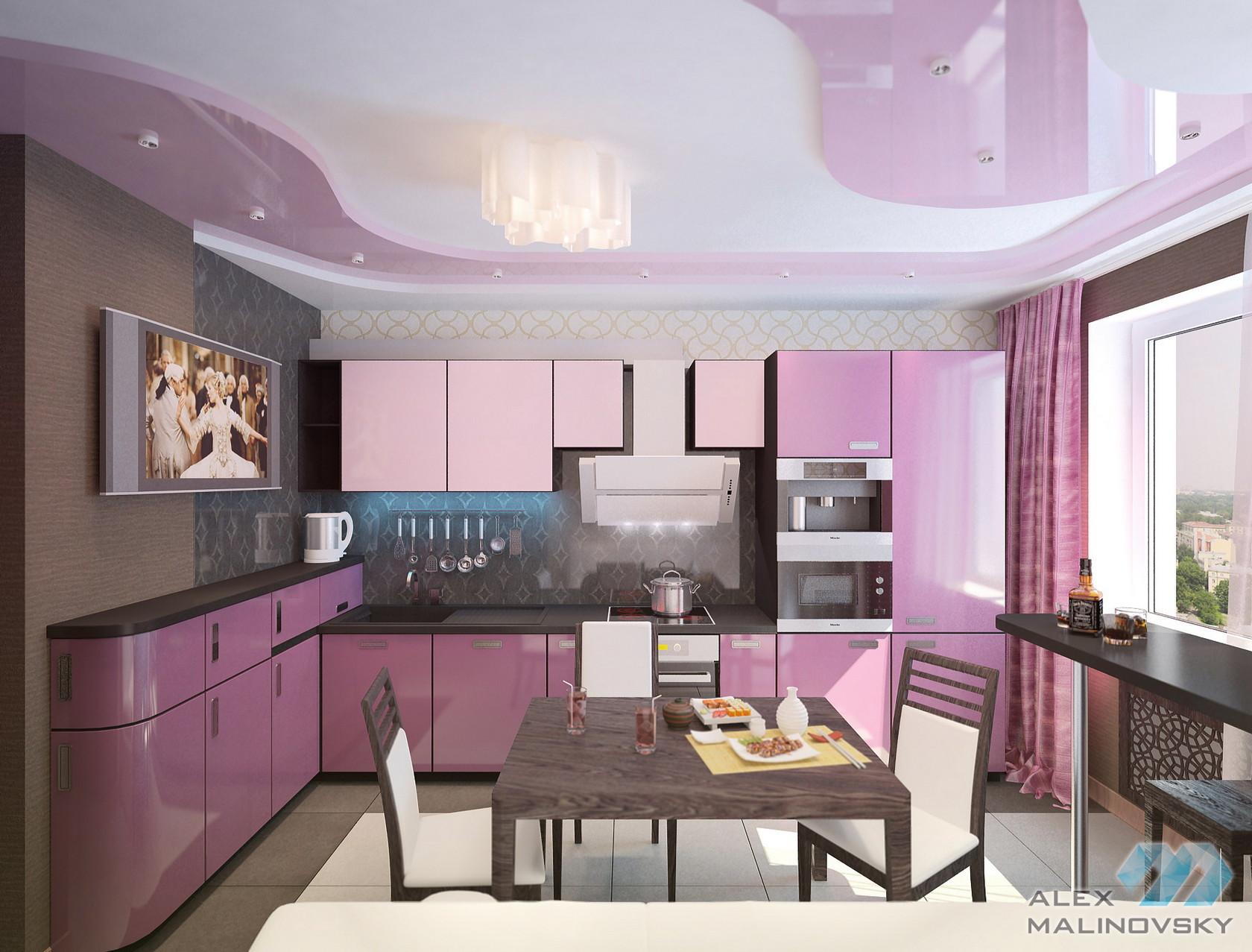 Кухня, 3х комнатная квартира, ЖК Северный, СПб