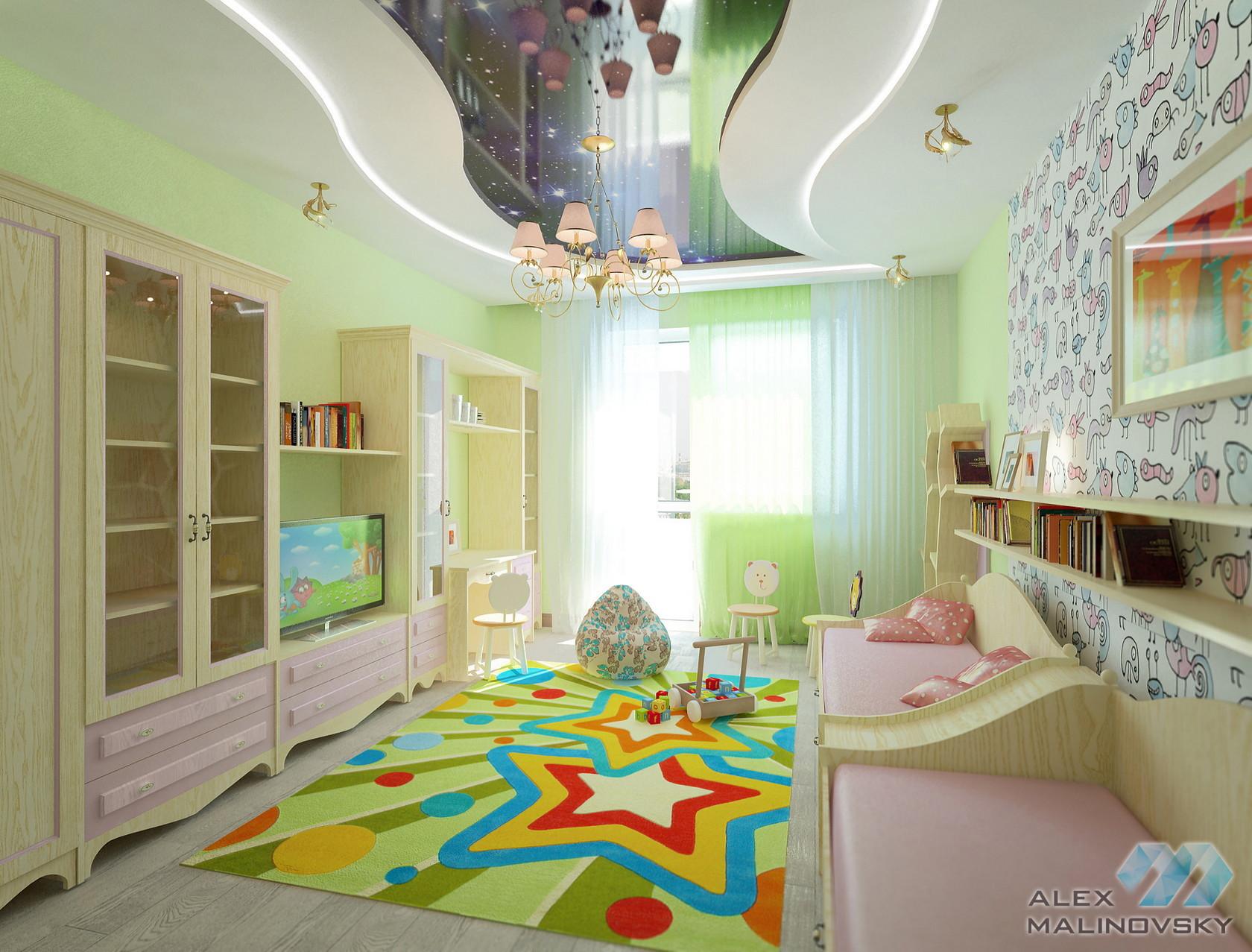 Детская, 3х комнатная квартира, ЖК Северный, СПб