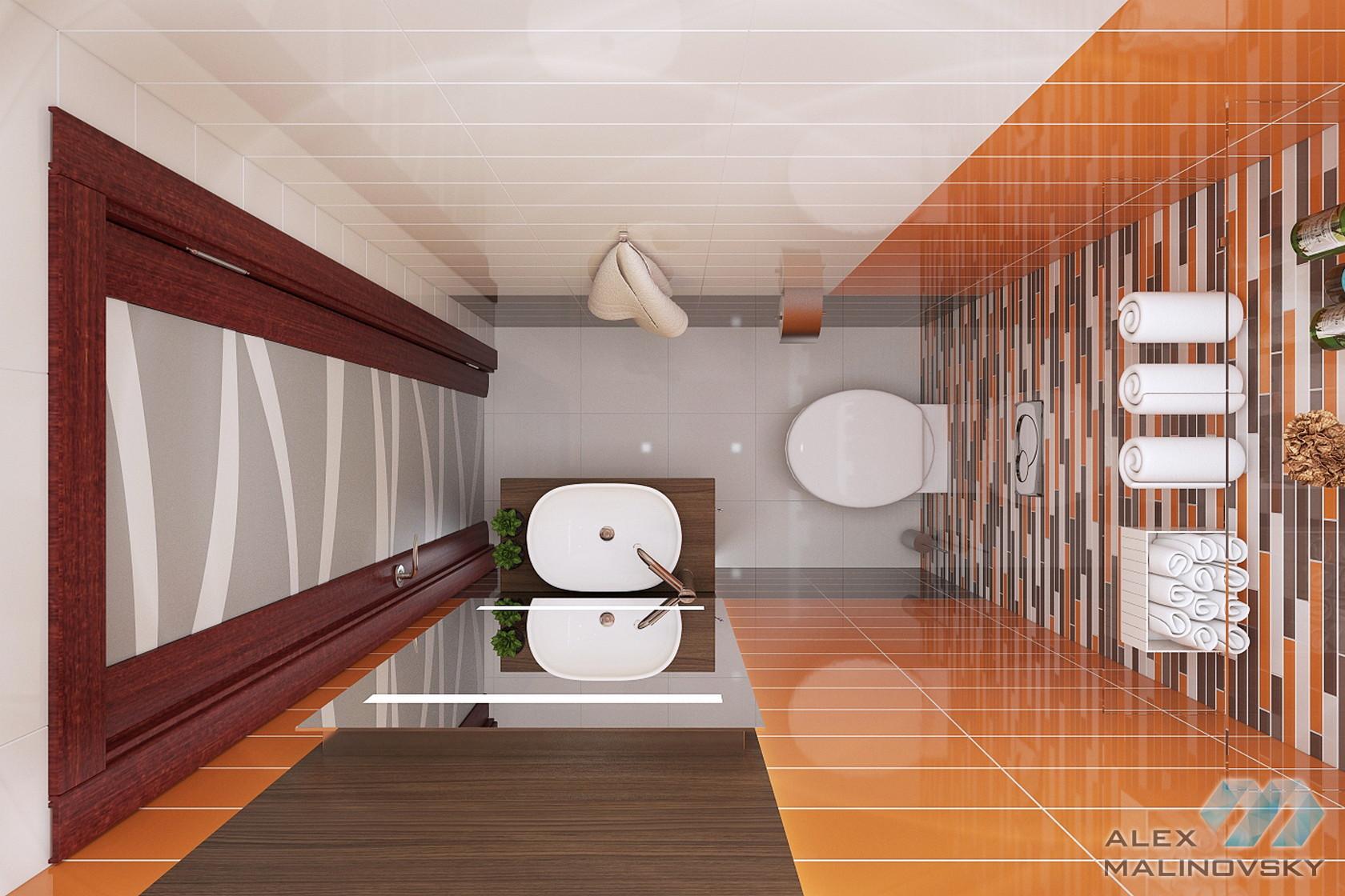 Санузел, 2х комнатная квартира, Фрязино