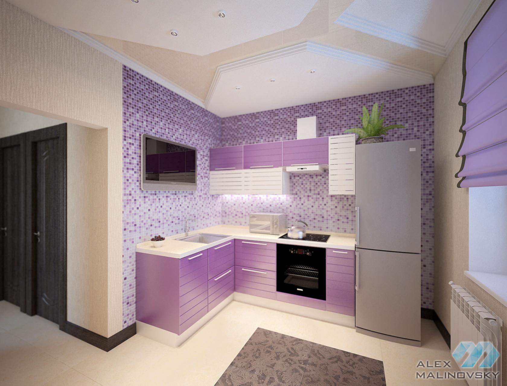 Кухня, 1комнатная квартира, Народного ополчения, СПб