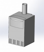 3D модель котла viessmann