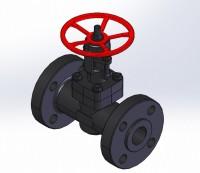 3D модель вентиля