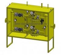 Шкафной регуляторный пункт (ШРП) на базе регулятора РДГ50