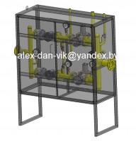 Шкафной регуляторный пункт (ШРП) на базе регулятора РДНК1000