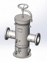 3D модель фильтра газового