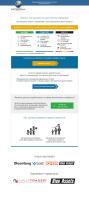 Составление текста + дизайн + верстка email-письма