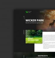 Дизайн сайта Wicker Park