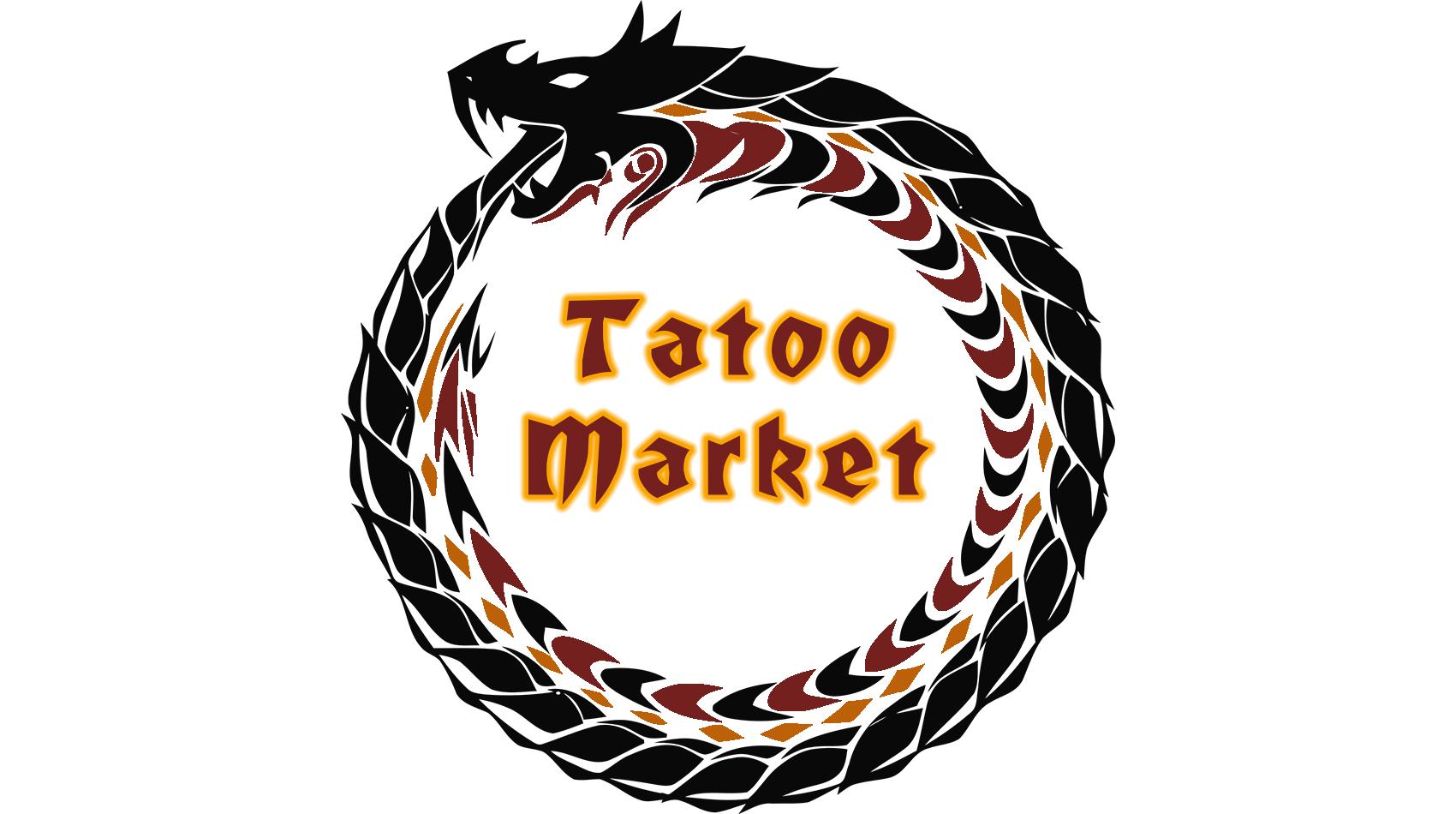 Редизайн логотипа магазина тату оборудования TattooMarket.ru фото f_9105c3d77cf82f26.jpg