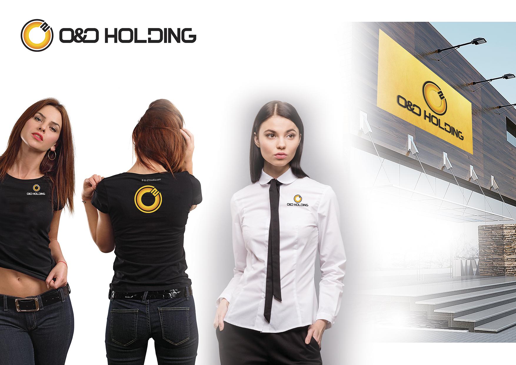 """Разработка Логотипа +  Фирменного знака для компании """"O & O HOLDING"""" фото f_5855c7d2e34c1acc.jpg"""