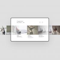 Дизайн сайта для йога-студии
