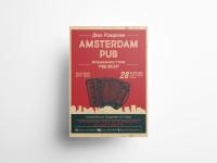 Афиша для Amsterdam Pub