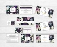 Разработка фирменного стиля для флористического салона