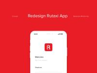 Редизайн прилодения Rutaxi