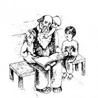 Иллюстрация для детской книги, вектор