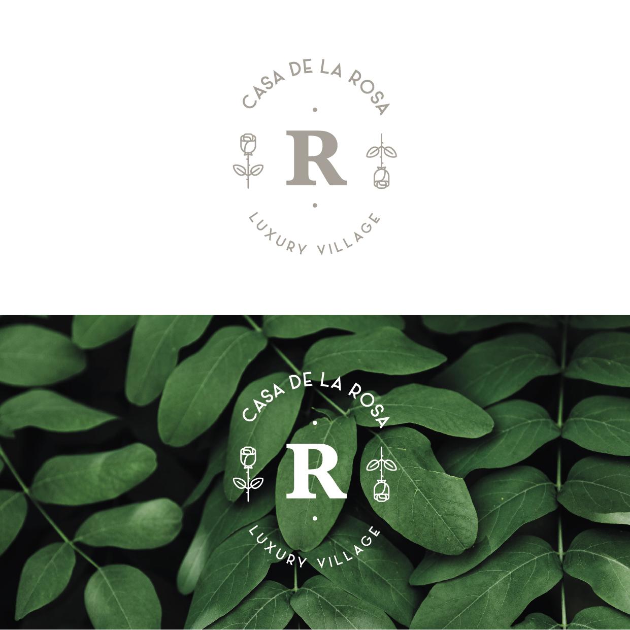 Логотип + Фирменный знак для элитного поселка Casa De La Rosa фото f_6265cd4dc33c21f5.jpg