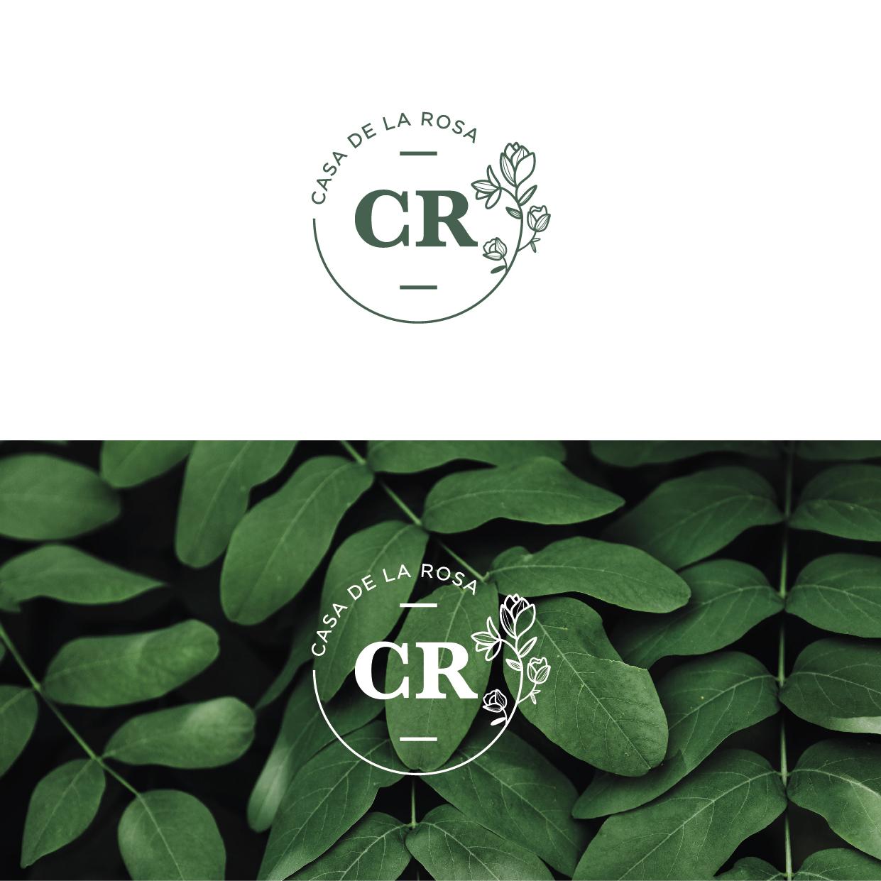 Логотип + Фирменный знак для элитного поселка Casa De La Rosa фото f_6615cd2e1087e55c.jpg