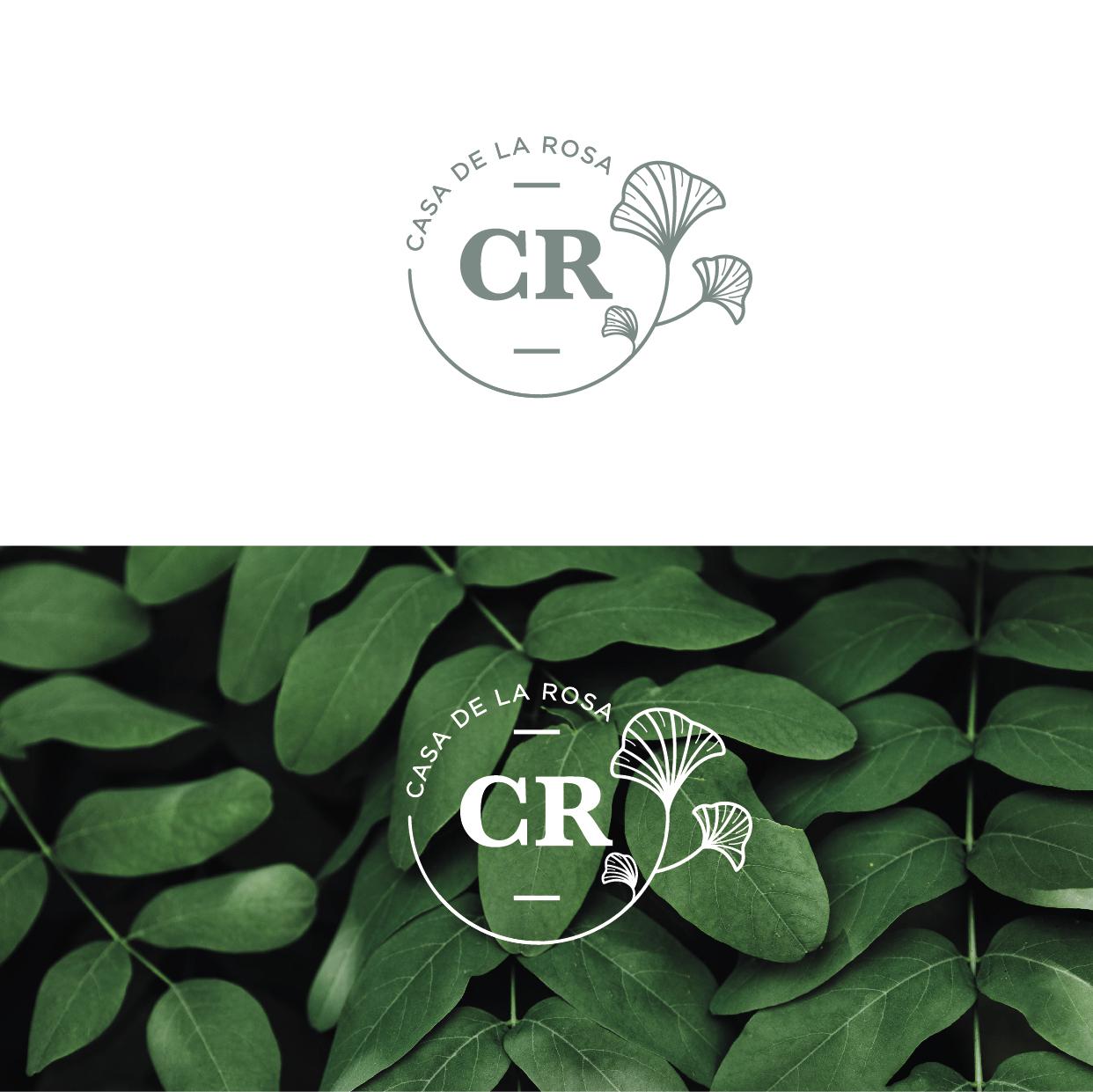 Логотип + Фирменный знак для элитного поселка Casa De La Rosa фото f_9295cd2e11b63404.jpg