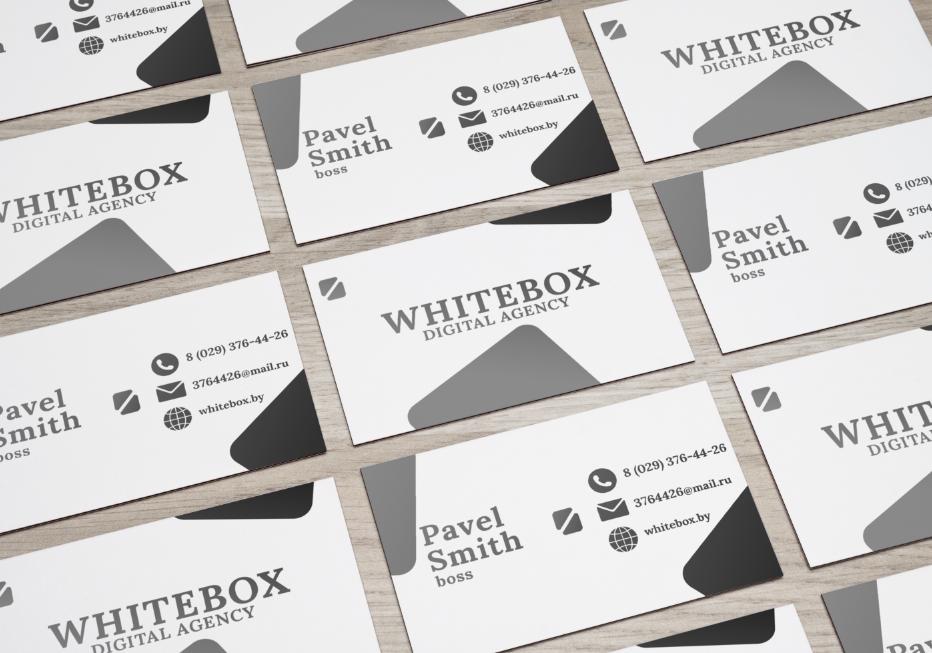 Визитка - WHITEBOX