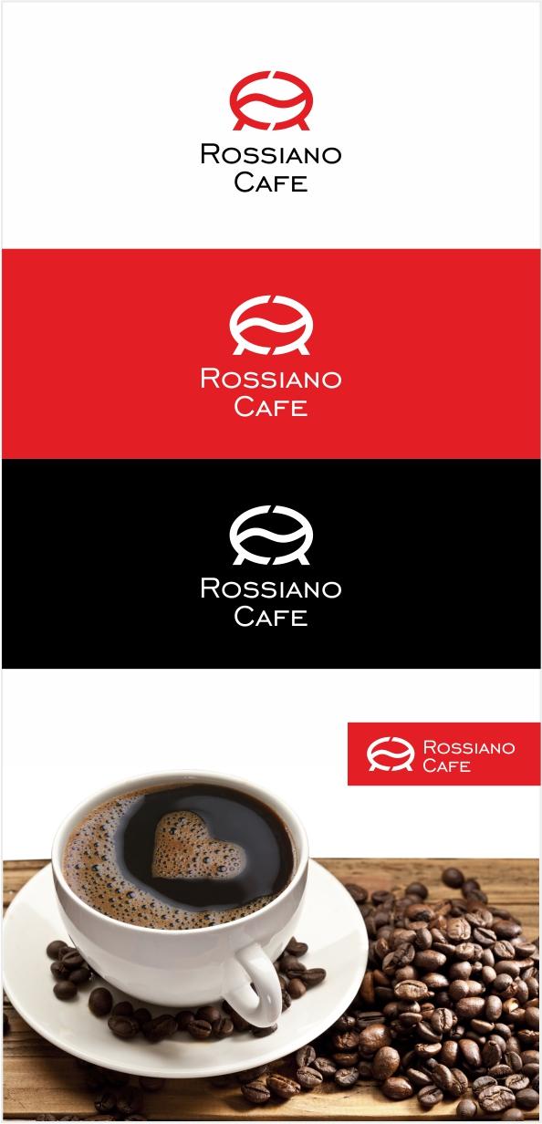 Логотип для кофейного бренда «Rossiano cafe». фото f_06857b86d2454abd.jpg
