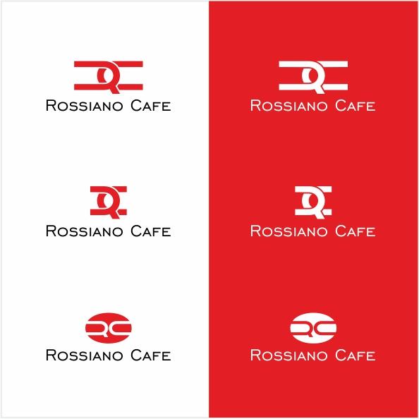 Логотип для кофейного бренда «Rossiano cafe». фото f_91457b86d1fae1e6.jpg