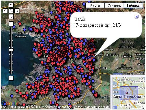 GOOGLE MAPS-Java Script