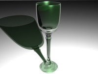 Green-glass-goblet
