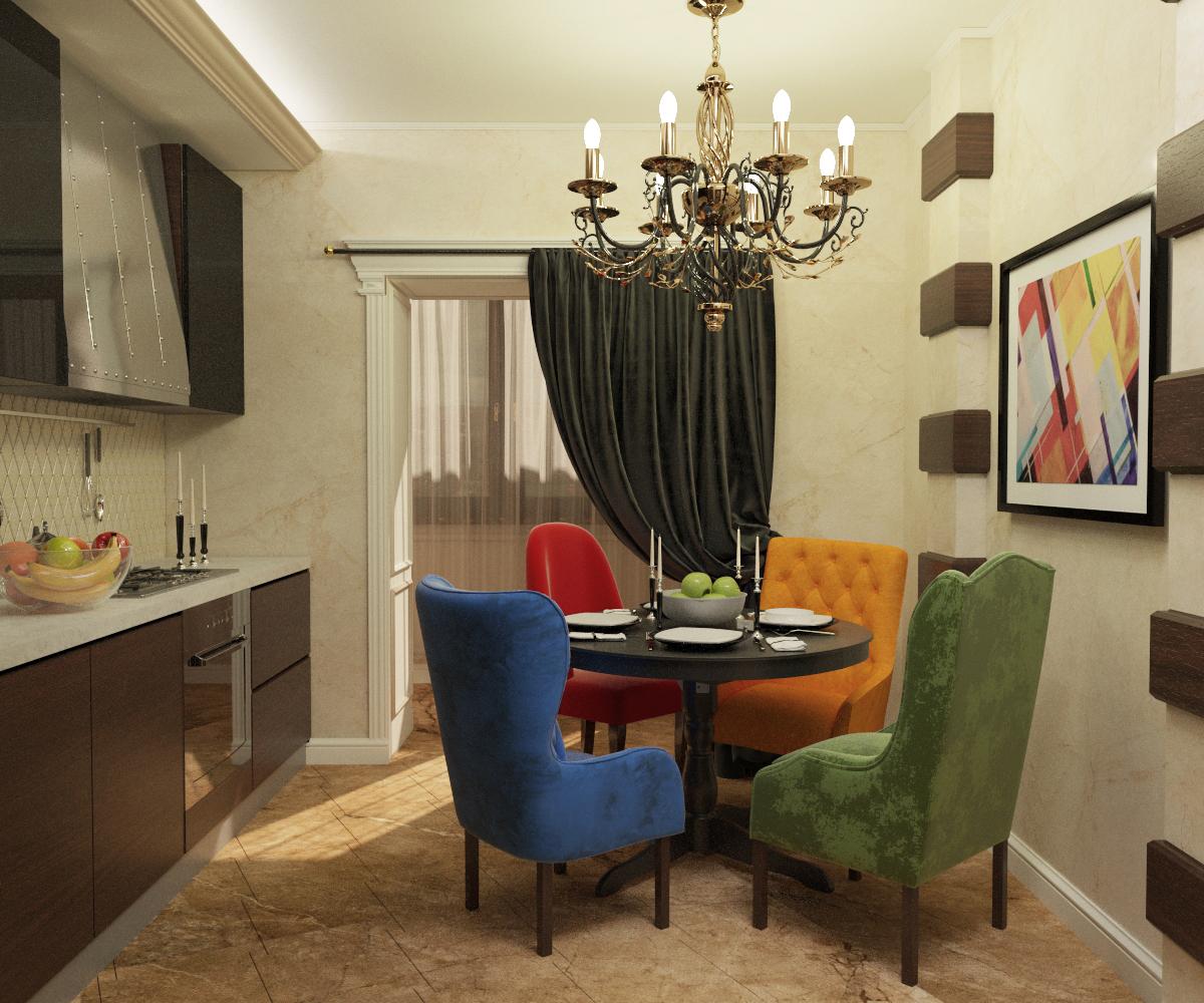Разработать дизайн однокомнатной квартиры 39 кв.м. фото f_0915937aa0a8ef74.jpg