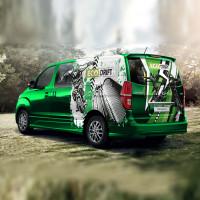 EcoDrift брендирование автомобиля