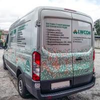 Брендирование автомобиля LWCOM