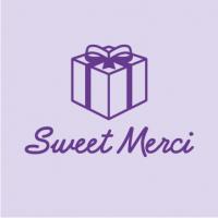 Название домена сладких подарочных коробок sweetmerci.com