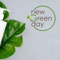 Разработка названия и логотипа косметики New Green Day