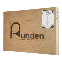 Название и домен компании по продаже немецких светильников и зеркал RUNDEN