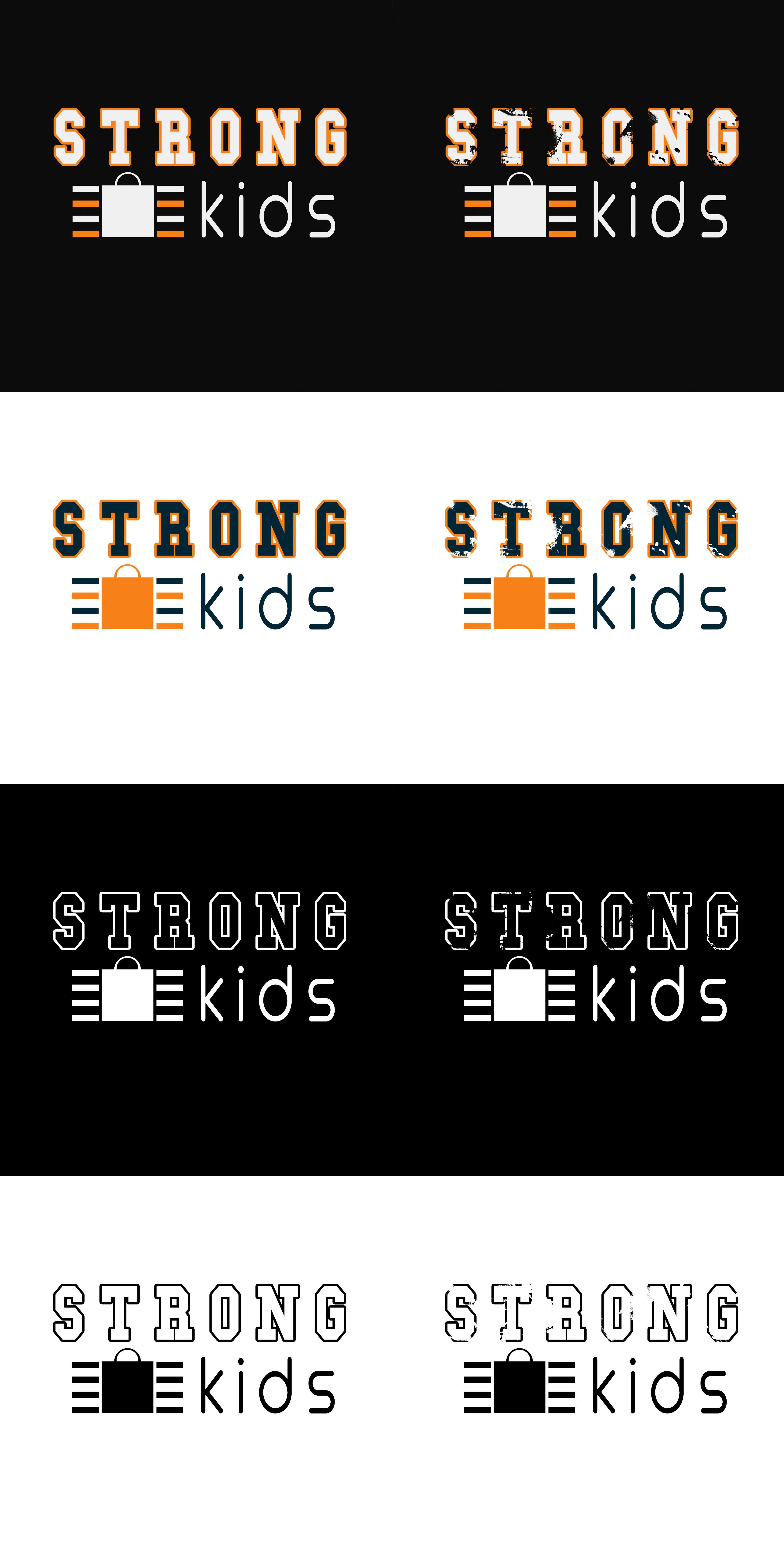Логотип для Детского Интернет Магазина StrongKids фото f_1655c6ac714a9e26.jpg