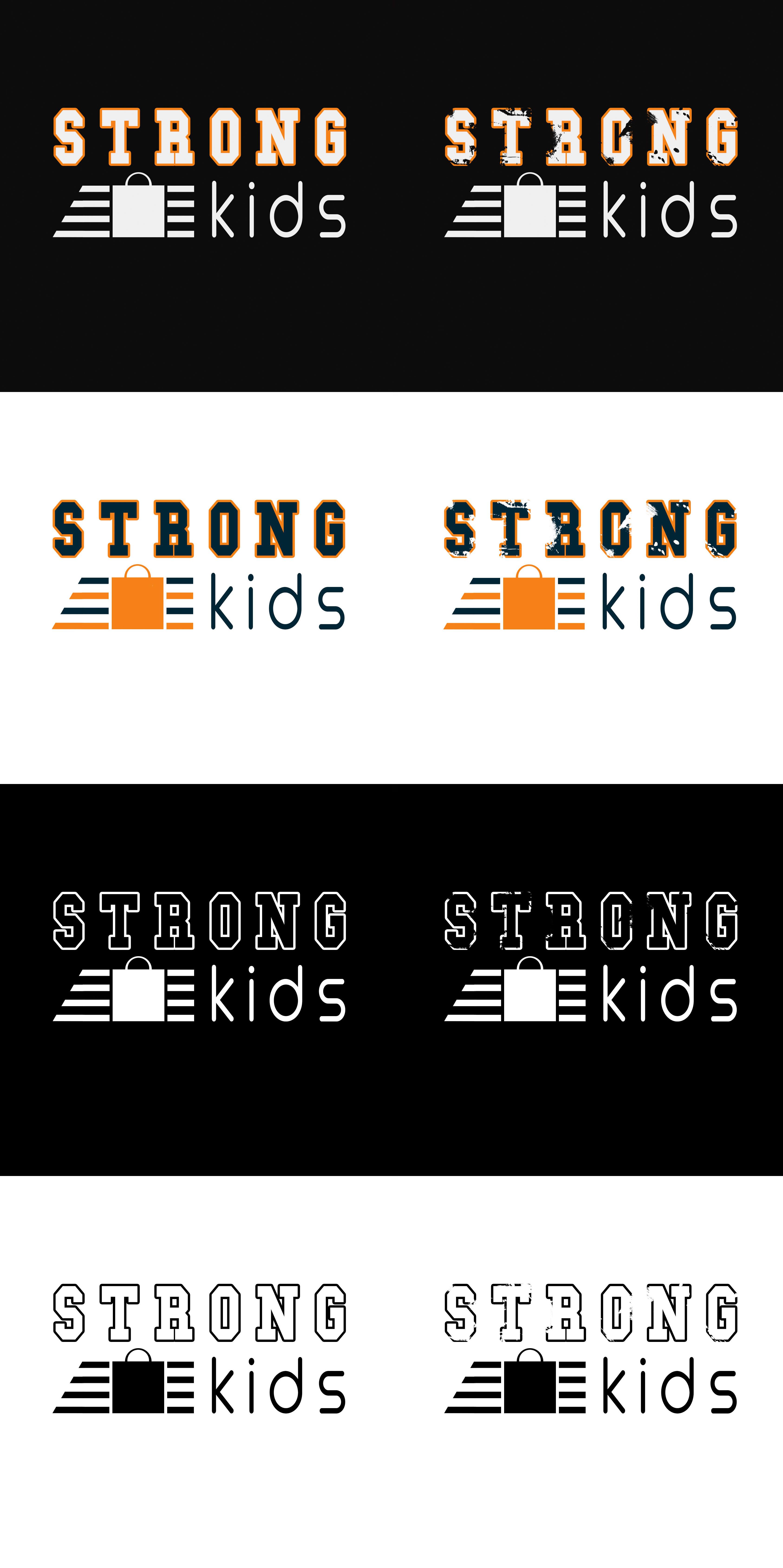 Логотип для Детского Интернет Магазина StrongKids фото f_5025c6ac7048a655.jpg