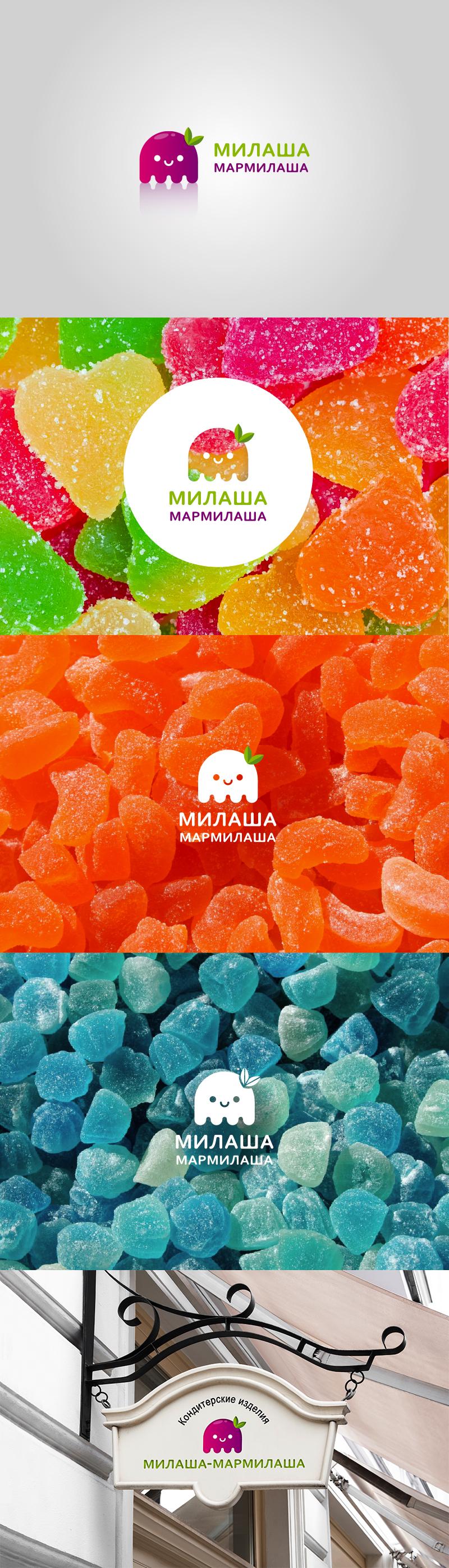 "Логотип для товарного знака ""Милаша-Мармилаша"" фото f_865587e6e03c670d.jpg"