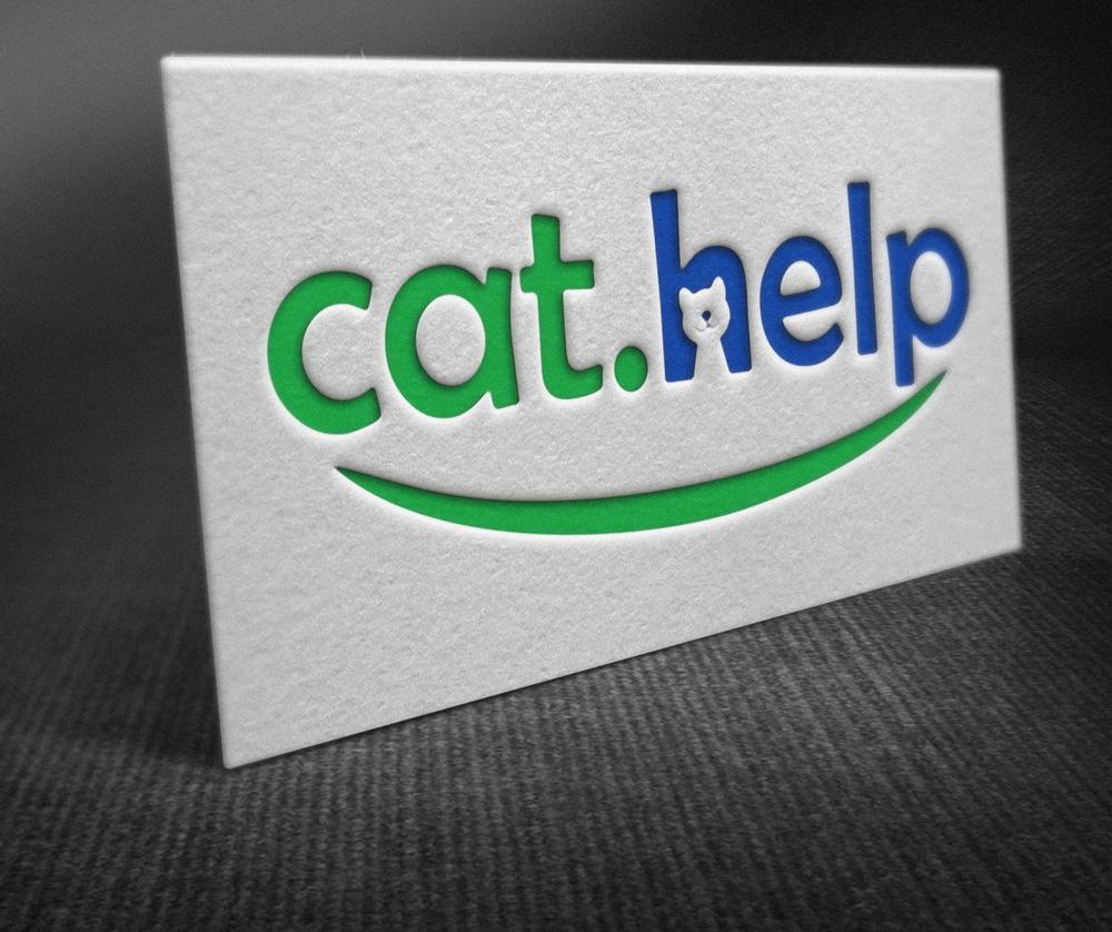 логотип для сайта и группы вк - cat.help фото f_05759e43c9a23026.jpg