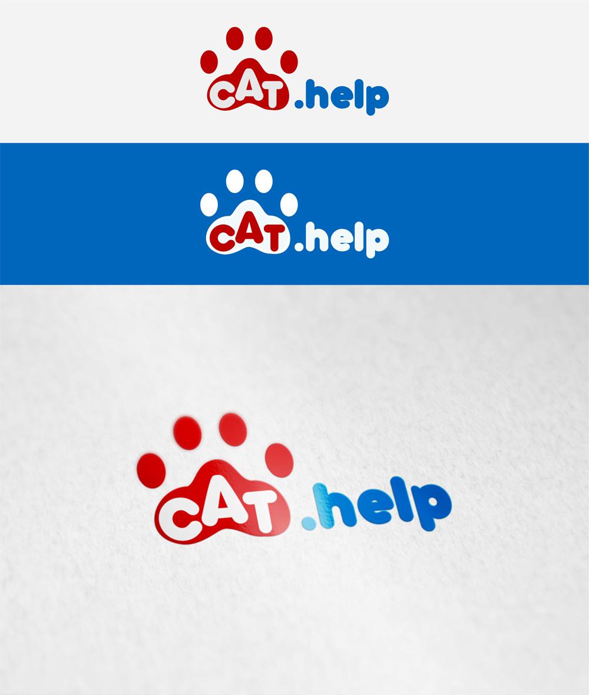 логотип для сайта и группы вк - cat.help фото f_19959e43e9a614c1.jpg