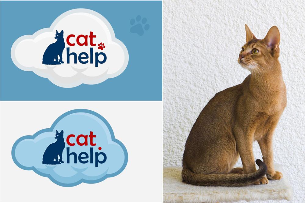 логотип для сайта и группы вк - cat.help фото f_56859e43cab7dd25.jpg