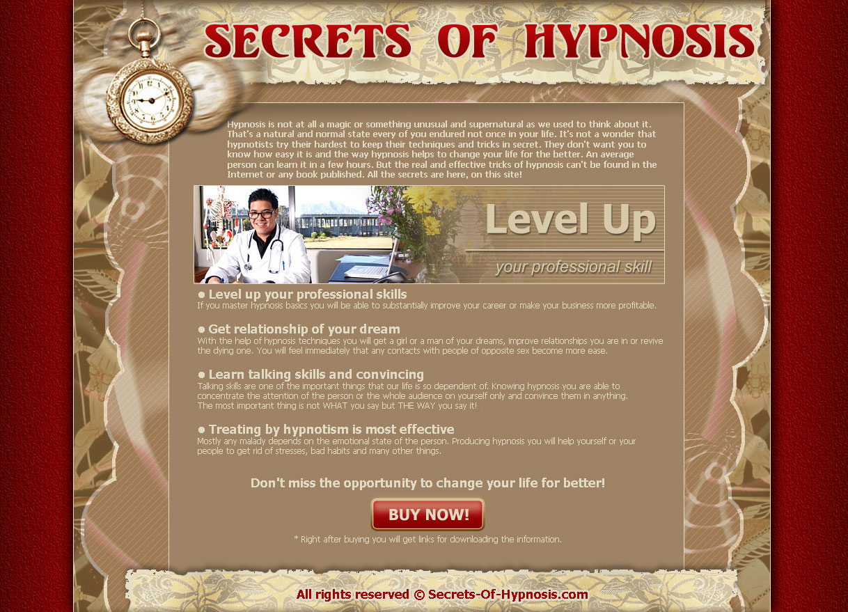 Secrets of Hypnosis