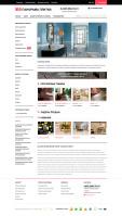 Интернет -  магазин керамической плитки  cms  Opencart