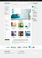 Интернет-магазин керамической плитки    Opencart
