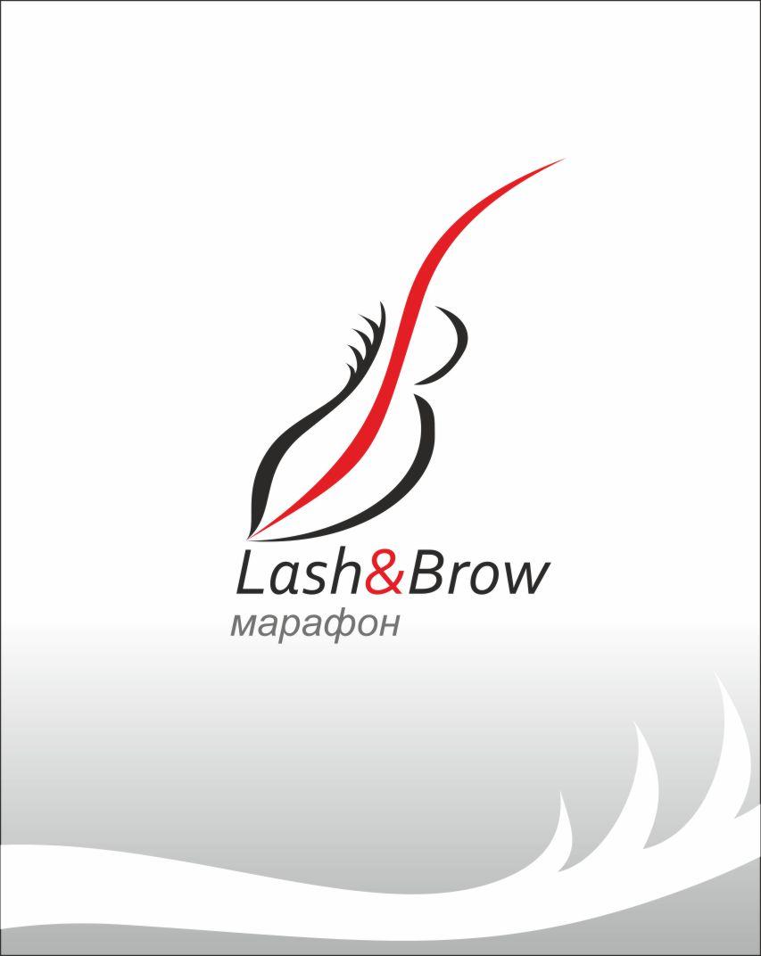 "Создание логотипа мероприятия ""Марафон Lash&Brow"" фото f_17258f7350c5633f.jpg"