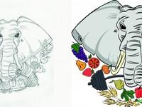 Векторизация логотипа / Отрисовка / Портреты