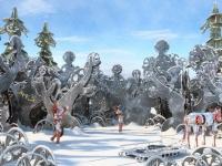 WinterInAMechanicalForest