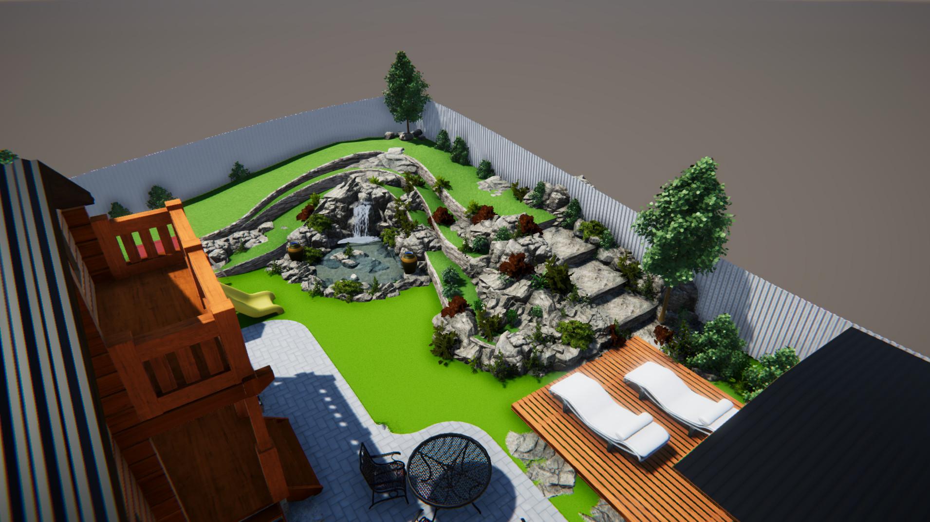 Ландшафтный дизайн участка 10 соток фото f_279598b6f915f4fe.jpg