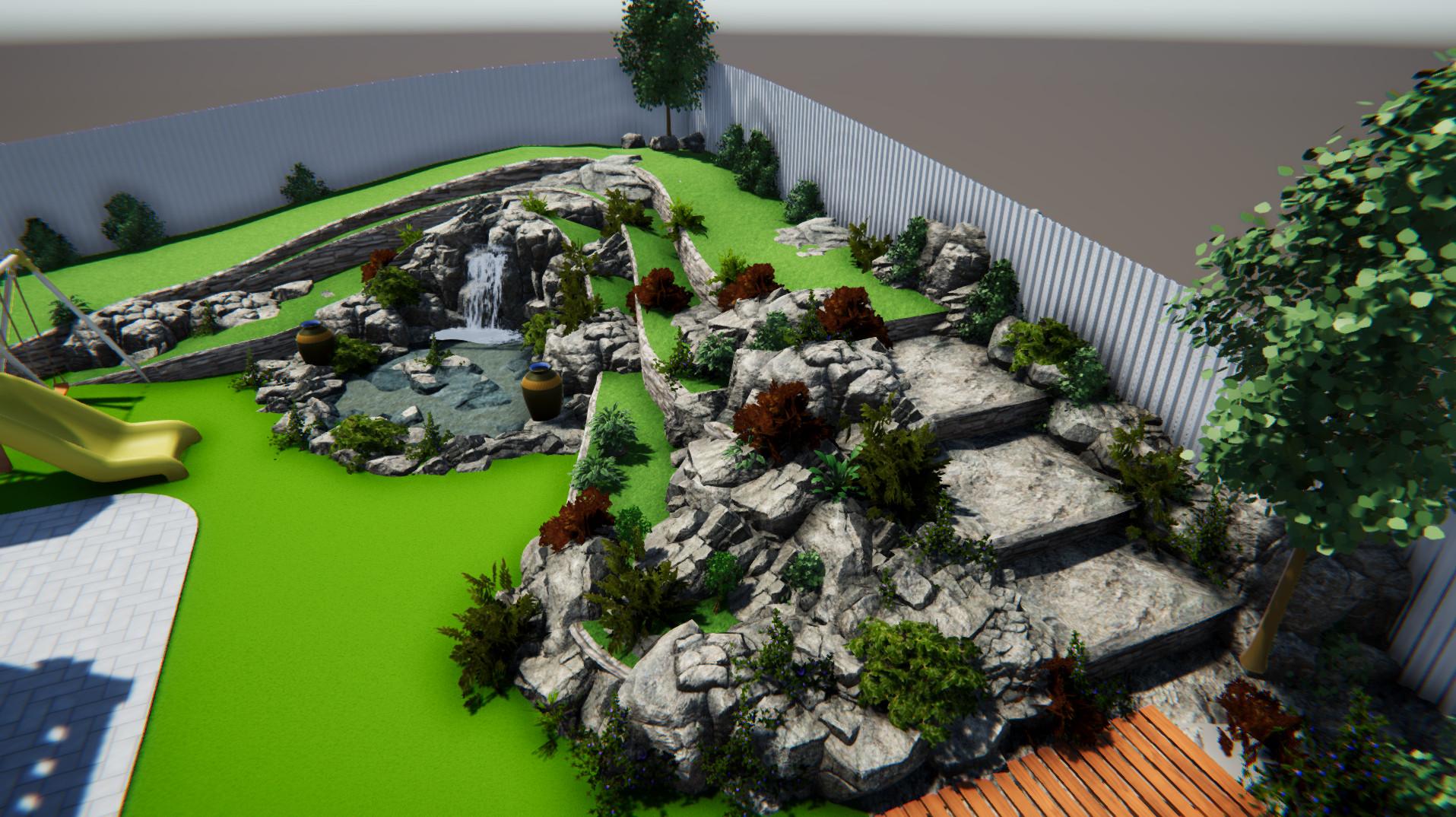 Ландшафтный дизайн участка 10 соток фото f_344598b6f8390894.jpg