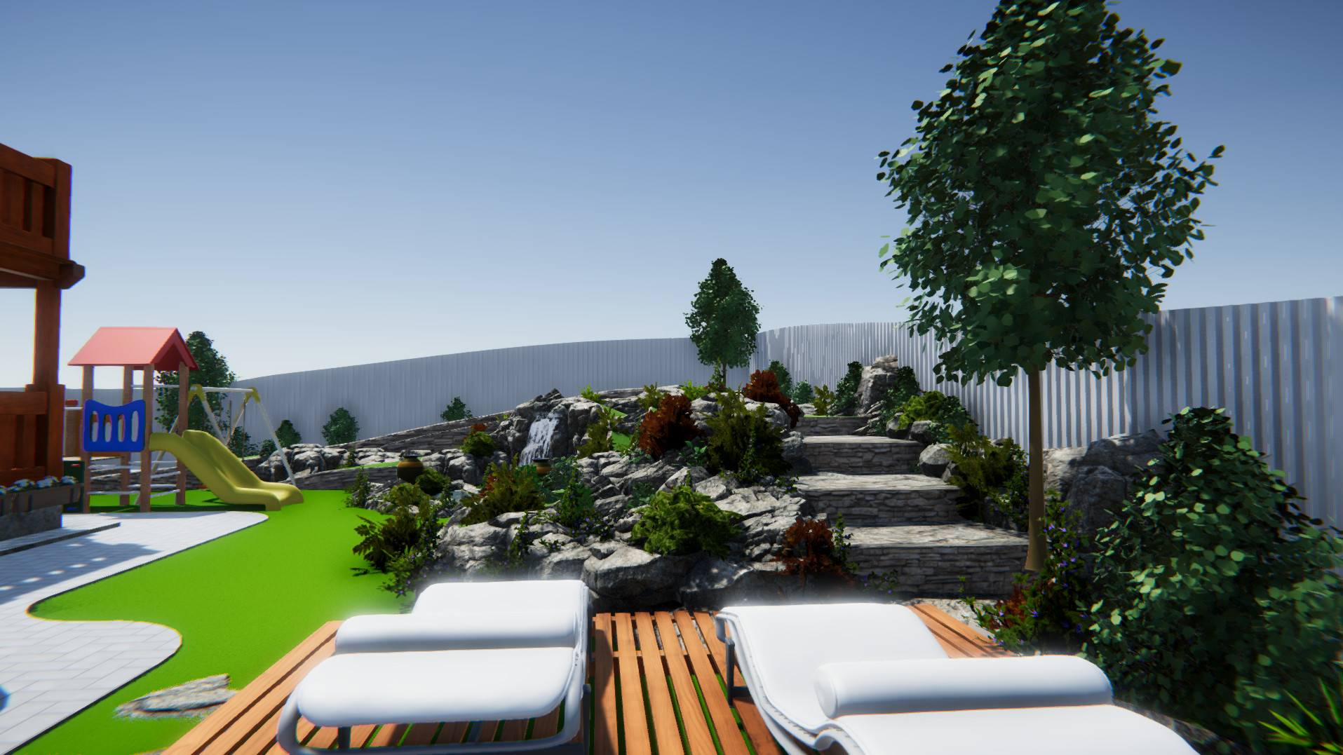 Ландшафтный дизайн участка 10 соток фото f_996598b6f7fe55db.jpg